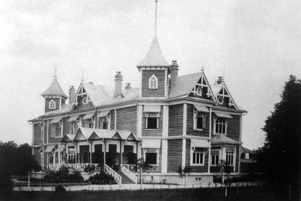Після 1888 р. Дом вскоре после постройки