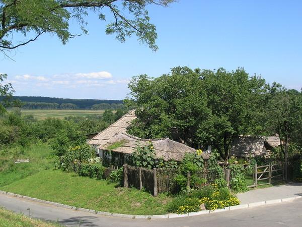 Вид села