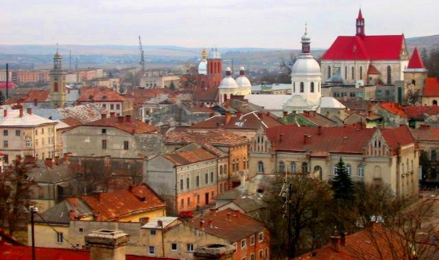 2009 р. Бережани: місто із замком на глиняній подушці