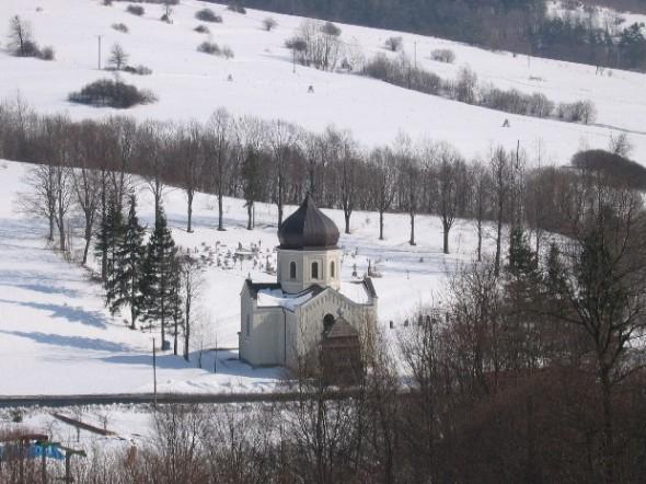 [2003..2006 р.] Краєвид з церквою