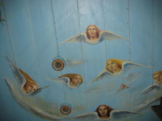 [2003..2006 р.] Розпис стелі в бабинці