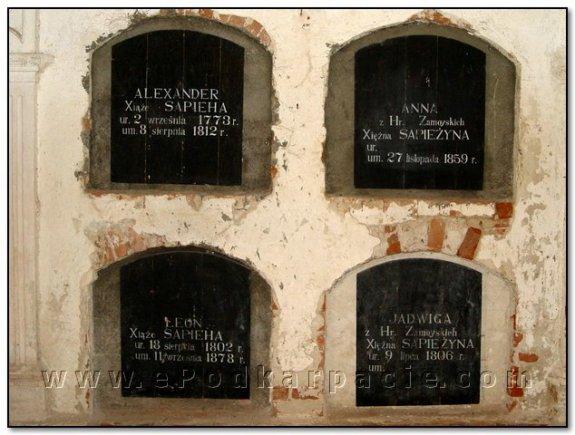 Надгробки Сапіг