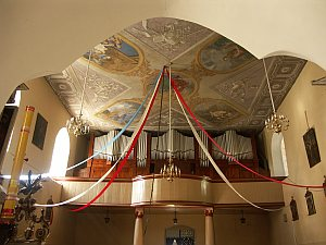 [2006 р.] Інтер'єр з видом на склепіння і хори