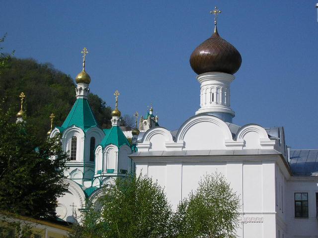2005 р. Загальний вигляд 2 храмів