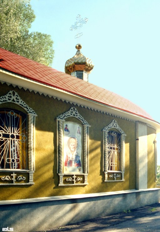 2005 р. Бічний фасад. Вигляд з позиції А3