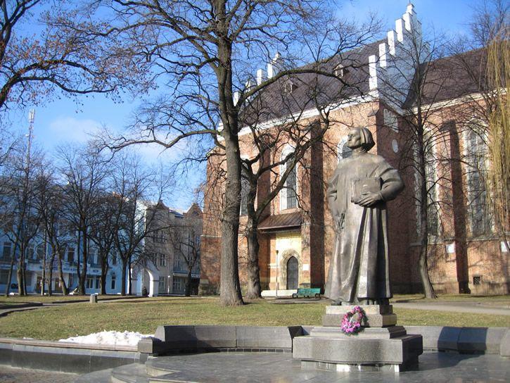 Пам'ятник Юрію Дрогобичу