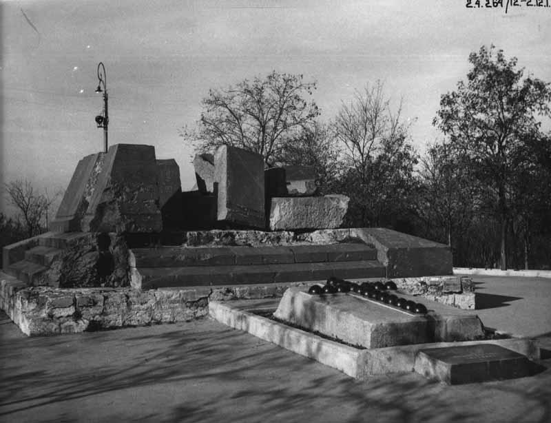 Місце смертельного поранення адмірала В.О. Корнілова