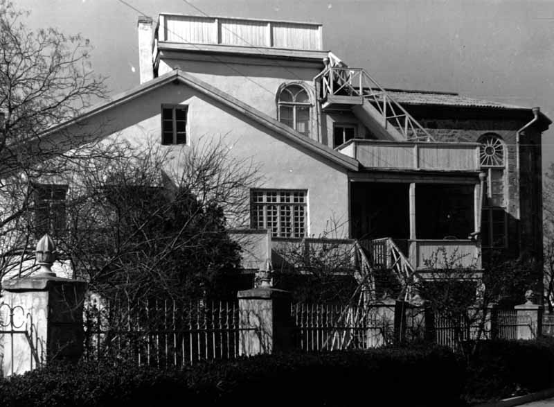 Будинок, у якому жив М.О. Волошин