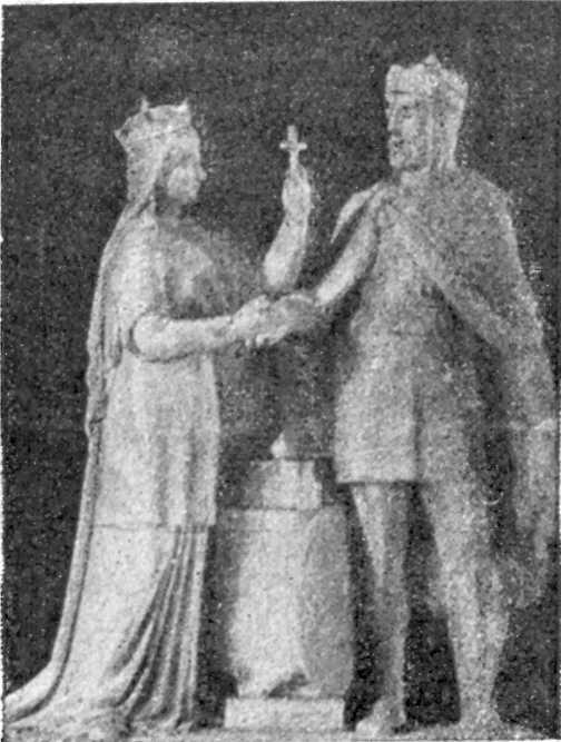 Сосновський. Ядвіга і Ягайло