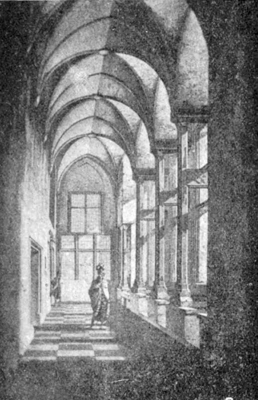 [1900 р.] Коридор, який веде до залу капітулу