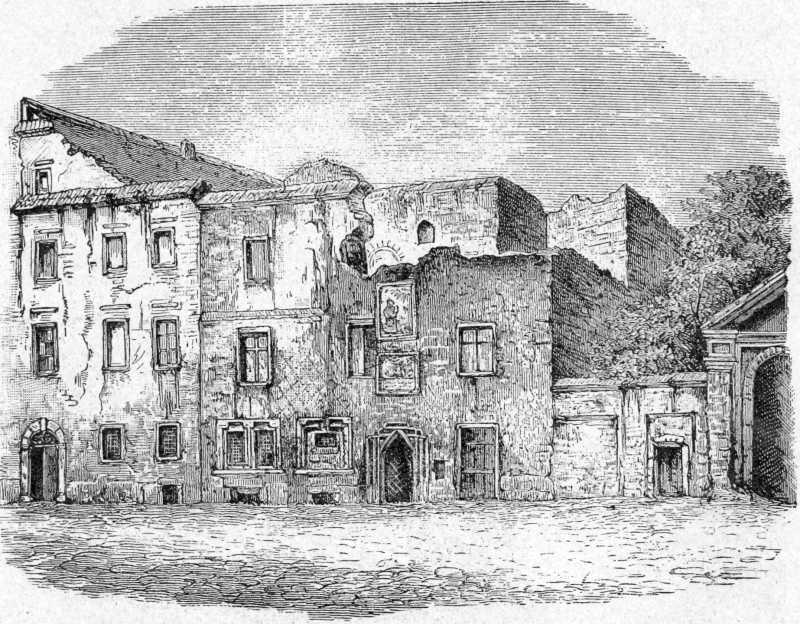 Будинок длугошівської бурси каноністів перед знесенням (вул. Гродська, № 76)