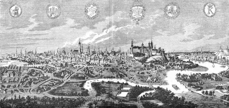 [1 пол. 16 ст.] Вид міста
