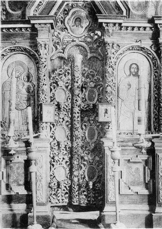 Деревянные церкви в м. Чуднове Житомирского уезда