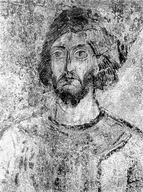 Фрагмент розпису Георгіївської нави