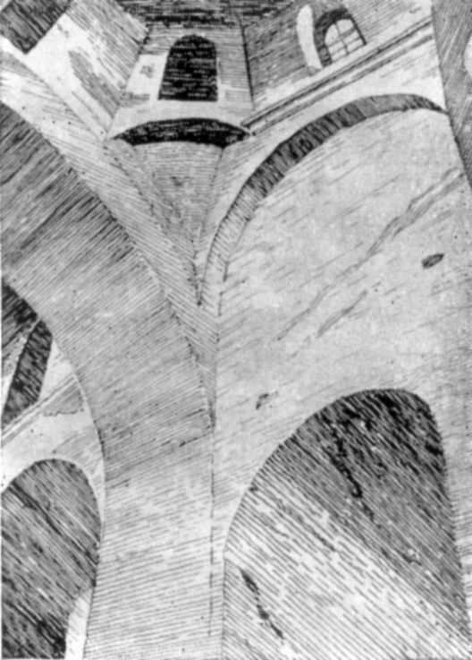 Паруса и своды Николаевского собора в Нежине (XVII в.)