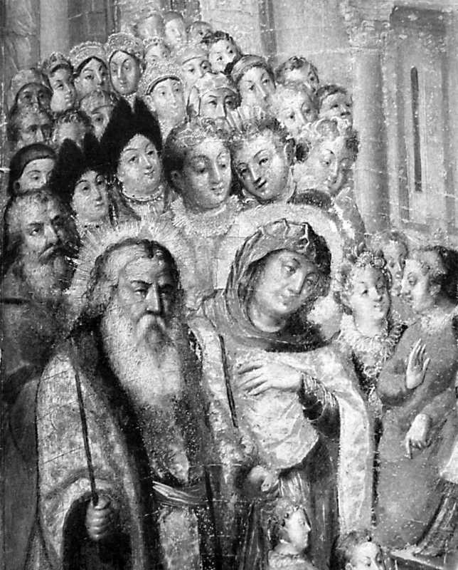 """""""Введення"""". Ікона з Преображенської церкви у В. Сорочинцях"""