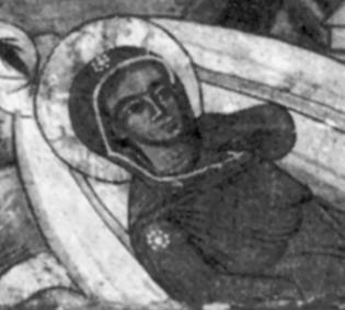 Джерело: Міляєва Л.С. Стінопис Потелича. – К.: Наукова думка, 1969 р., с. 118.
