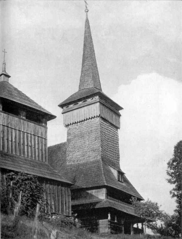 Дзвіниця і церква. Вигляд з позиції А4