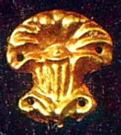 Бляшка у формі пальмети