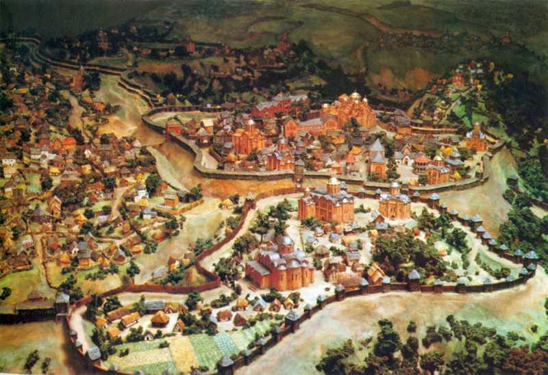 Город Ізяслава. Вигляд в 1982 р.
