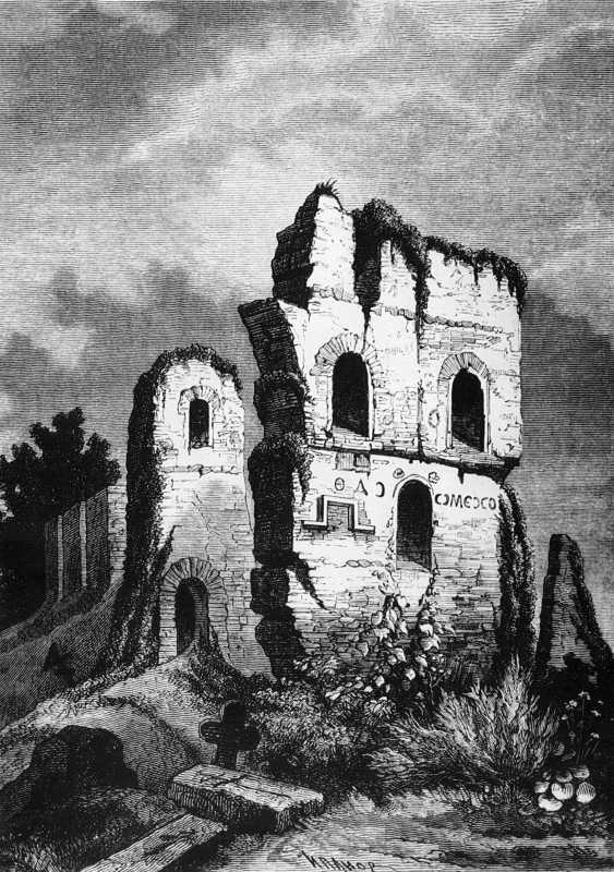 Поч. 19 ст. Руїни Десятинної церкви