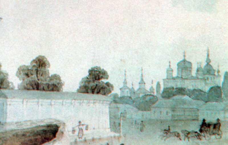 Мур Софійського собору, церкви св.Іоана Златоуста, Десятинна і Андріївська