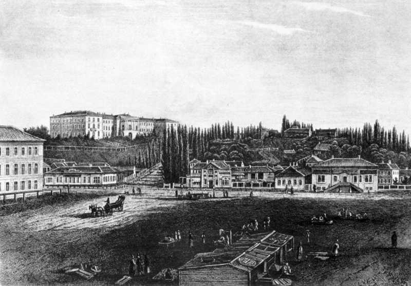 1850-і рр. Загальний вигляд з півночі