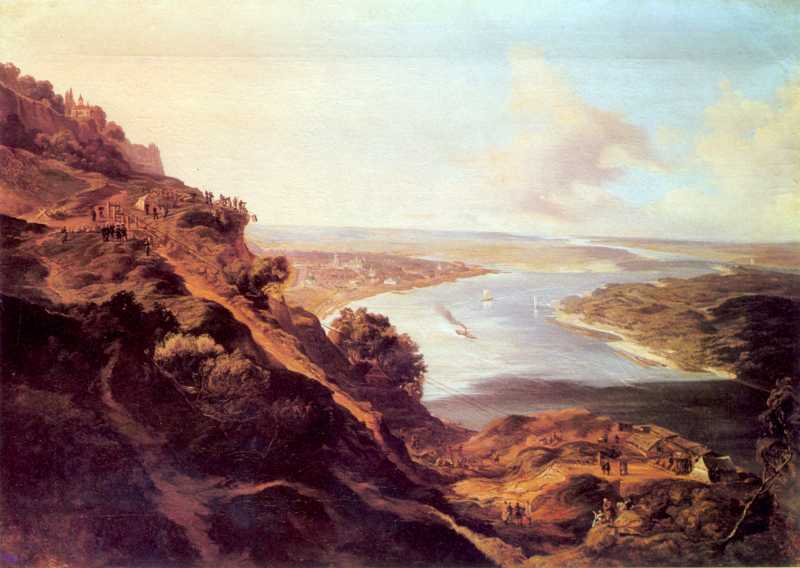 1850 р. Будівництво Микільського узвозу