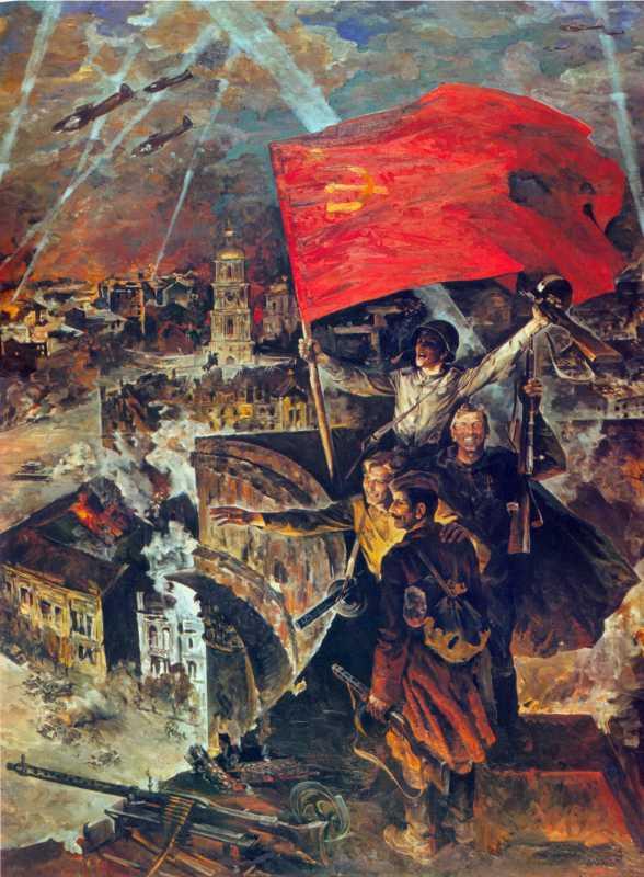 Мягков В.О. Визволення Києва