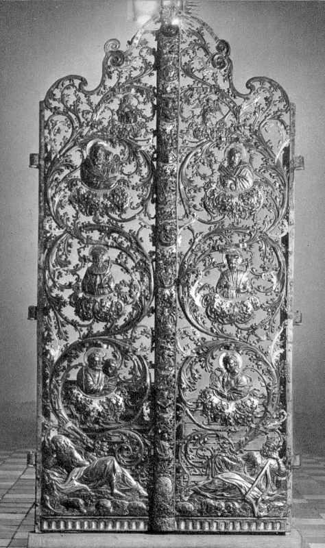 Царські врата іконостасу. Поч.18 ст.