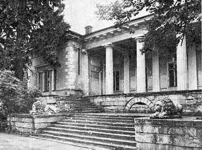 Палац М.С.Воронцова у Салгірці