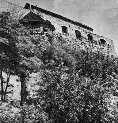 Дозорна башта. Вигляд з південного заходу