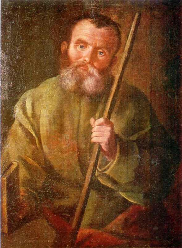 Портрет невідомого селянина з картинної галереї Підгорецького замку