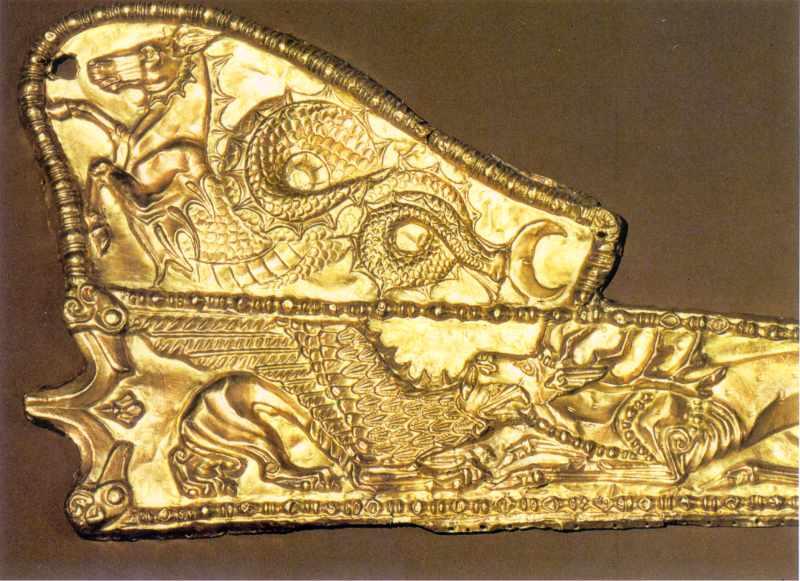 Накладка на піхви меча