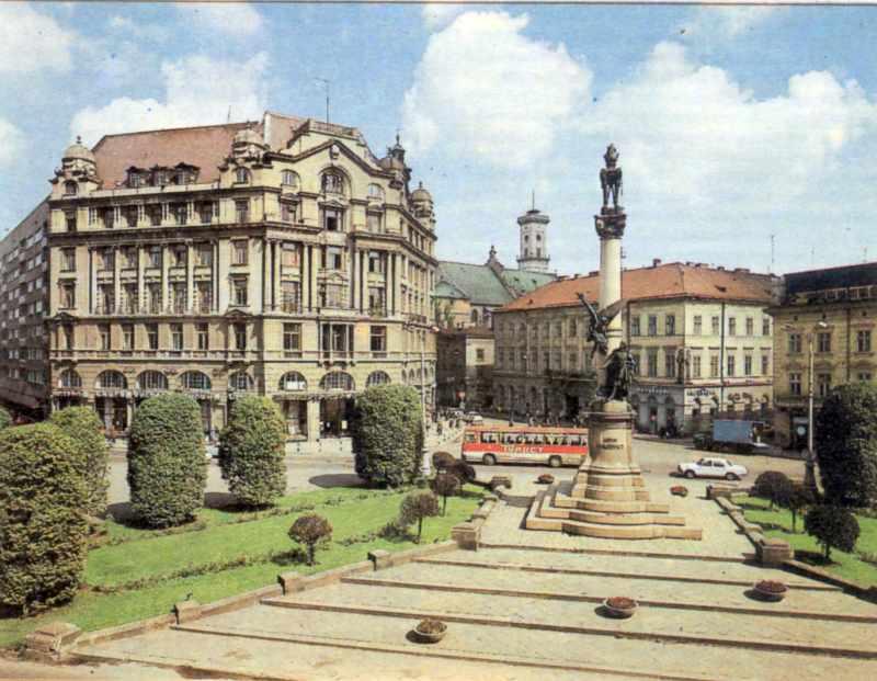 1989 р. Загальний вигляд площі