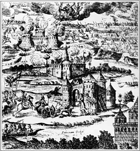 1695 р. Здобуття турецьких фортець