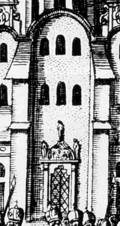 Центральне прясло західного фасаду