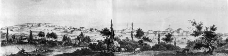 Кін. 18 ст. Панорама міста