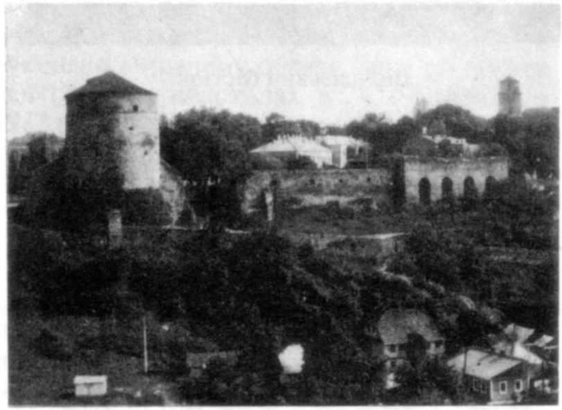 Кушнірська башта та Турецький бастіон