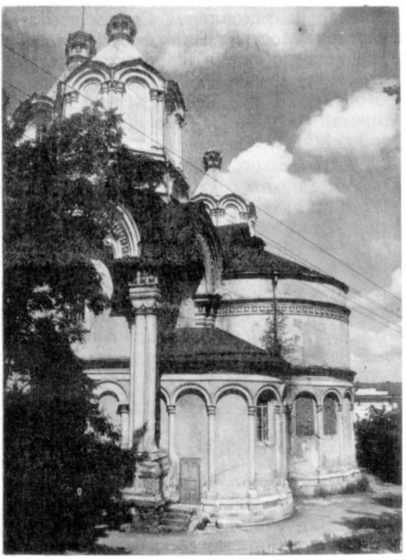 Успенський собор. Вигляд апсид