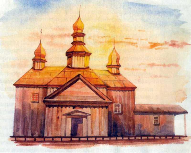 Церква Покрови 1755 р.