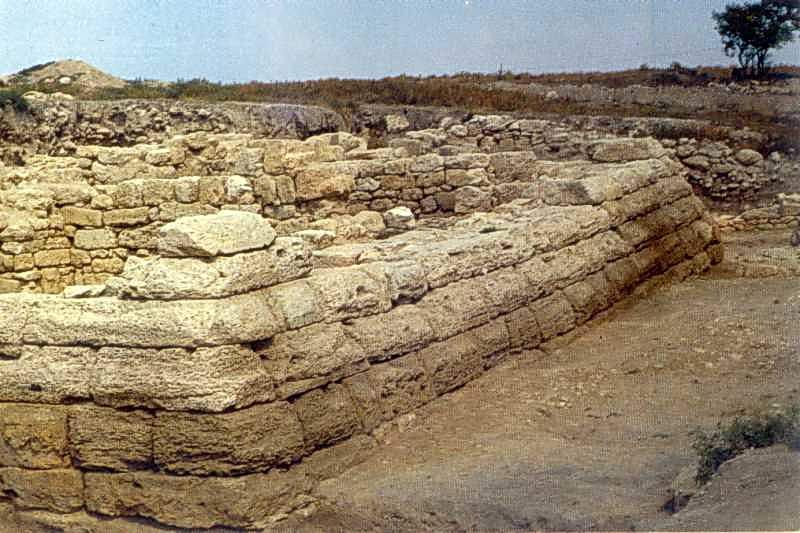 Башня цитадели. Конец III - II вв. д.н.э.