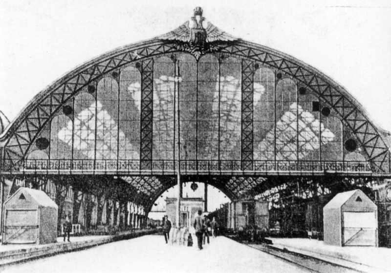1904 р. Дебаркадер