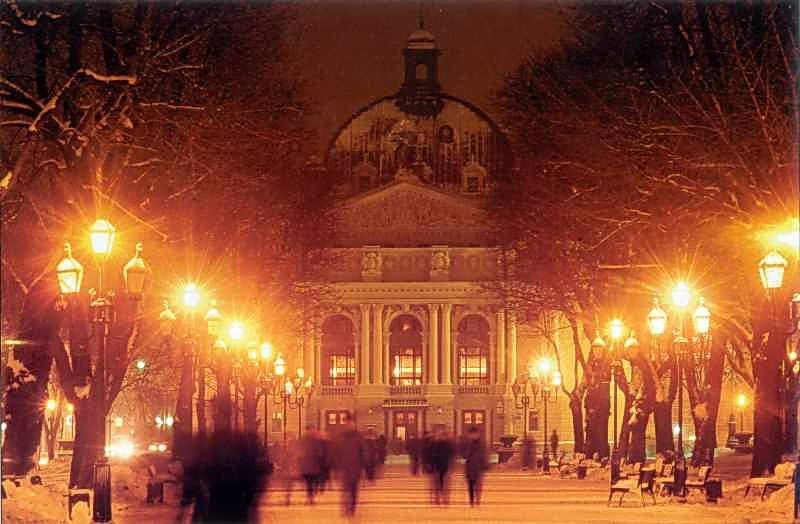 [2005 р.] Перспектива бульвару з видно на театр