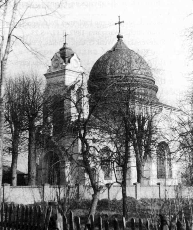 Церква Різдва богородиці / св. Володимира