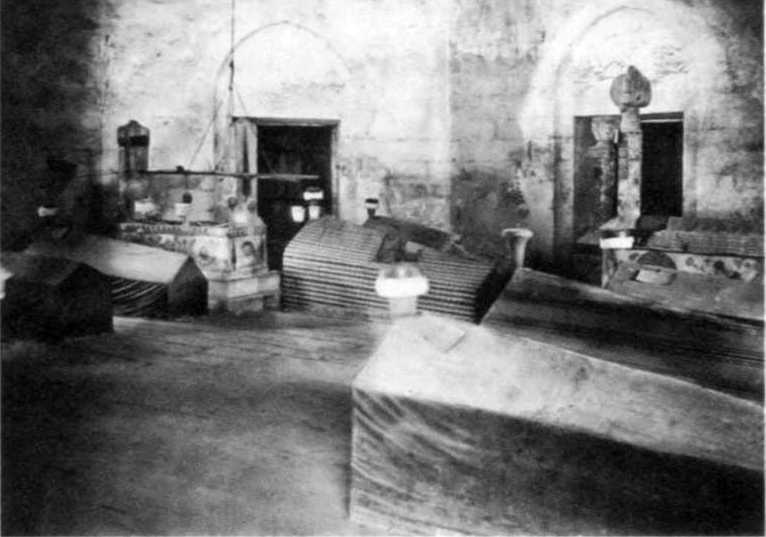 1880 р. Інтер'єр північного дюрбе