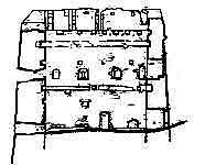 Гончарська башта. Обміри. Переріз