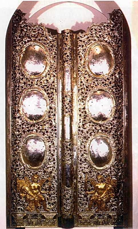 Царські врата іконостаса Михайлівського Золотоверхого собору