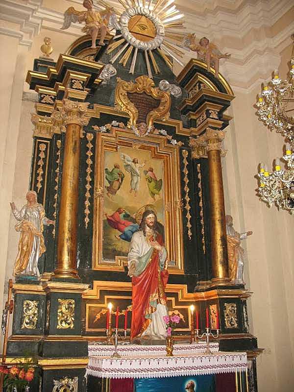 2006 р. Бічний вівтар з іконою Преображення