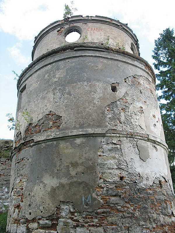2011 р. Південно-західна башта (6). Вигляд із заходу